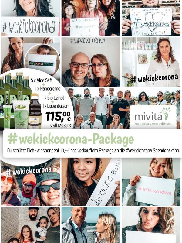 #wekickcorona Package
